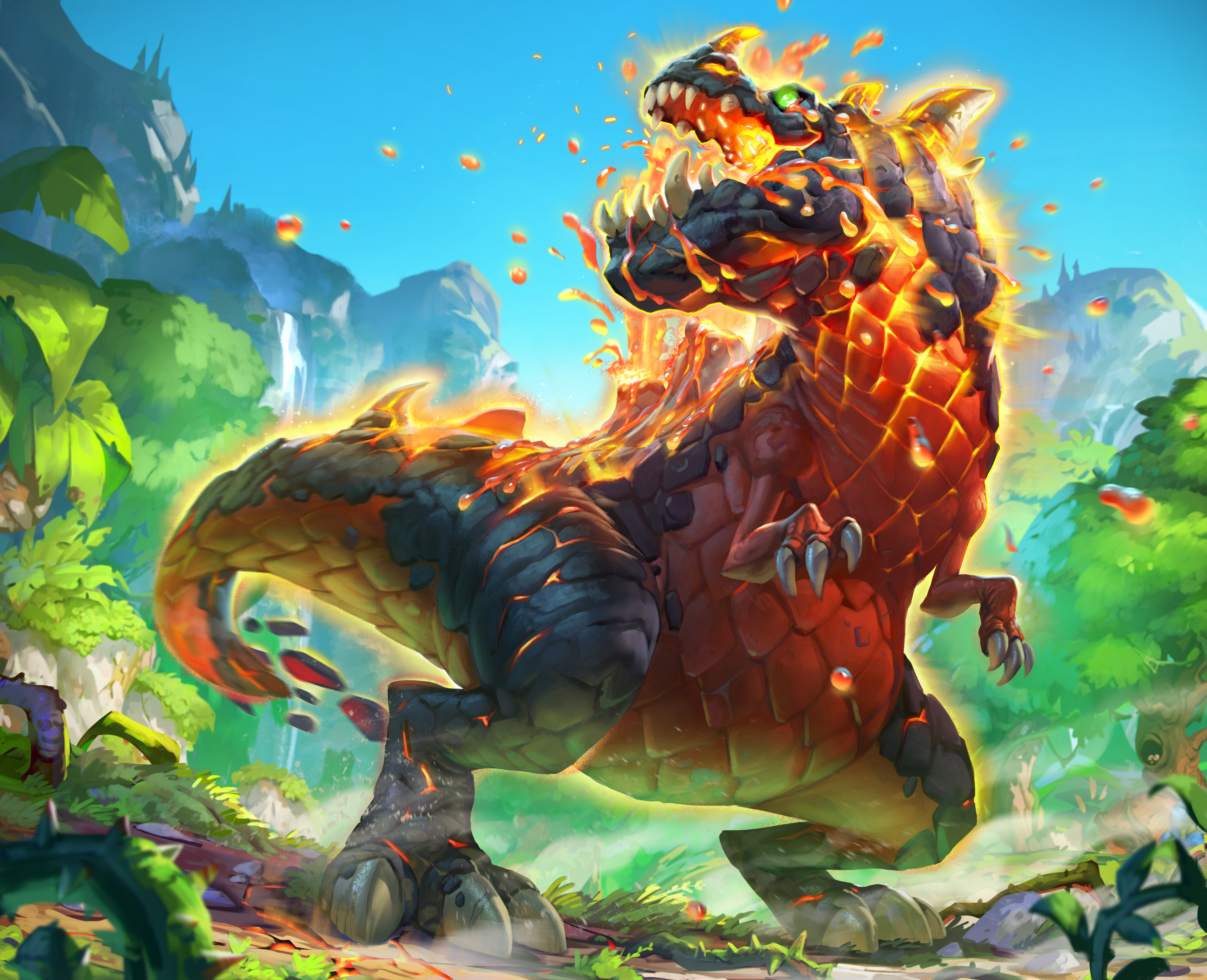 Jungle Wallpaper World Of Warcraft: Hearthstone: Heroes Of Warcraft Backgrounds, Pictures, Images