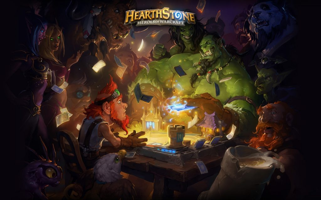 Hearthstone: Heroes Of Warcraft Widescreen Background