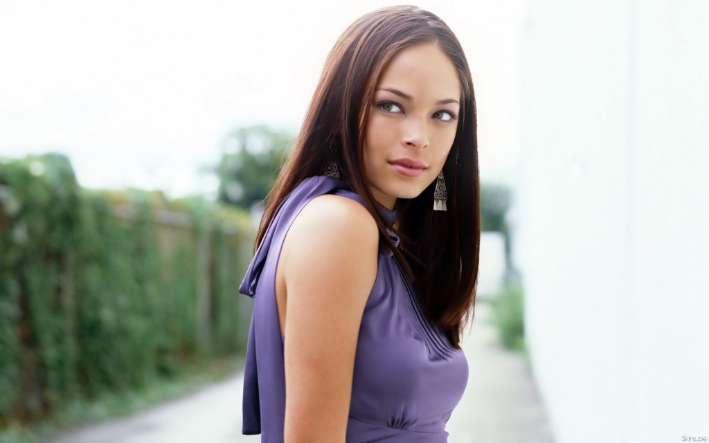 Kristin Kreuk Widescreen Wallpaper