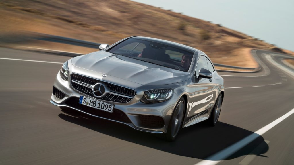 Mercedes-Benz S-Class Coupe Full HD Wallpaper