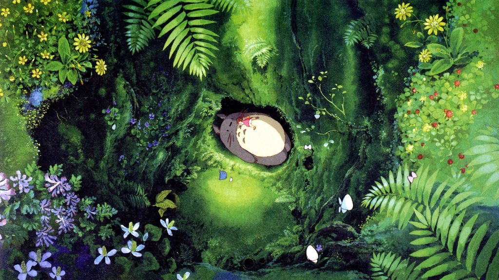 My Neighbor Totoro Full HD Wallpaper