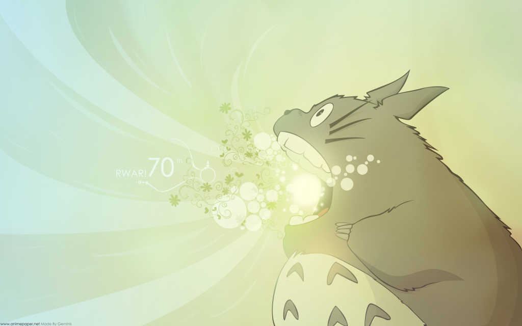 My Neighbor Totoro Widescreen Wallpaper