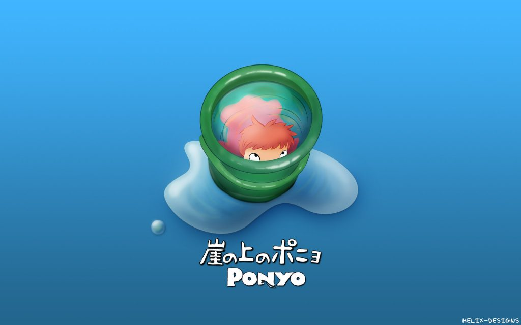Ponyo Widescreen Wallpaper