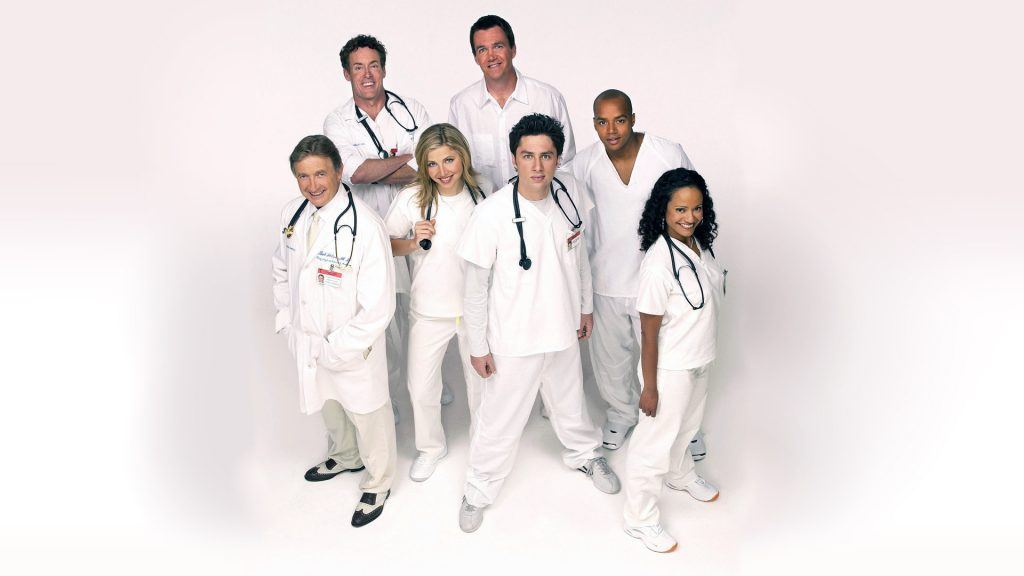 Scrubs Full HD Wallpaper