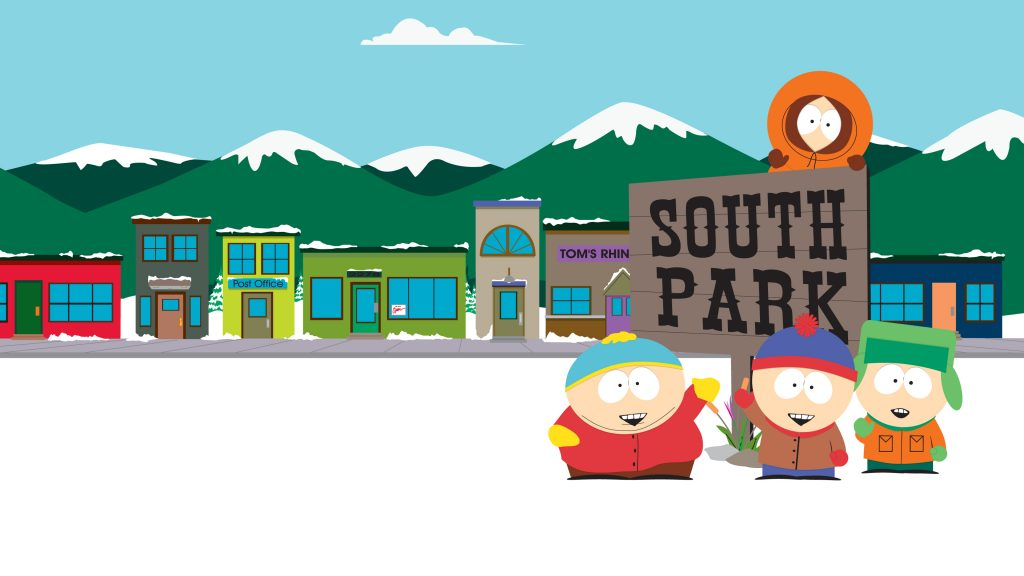 South Park 4K UHD Background