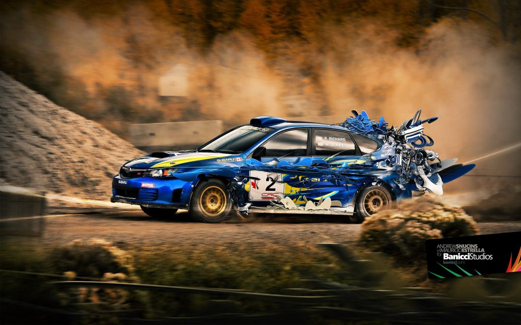 Subaru Impreza Widescreen Wallpaper