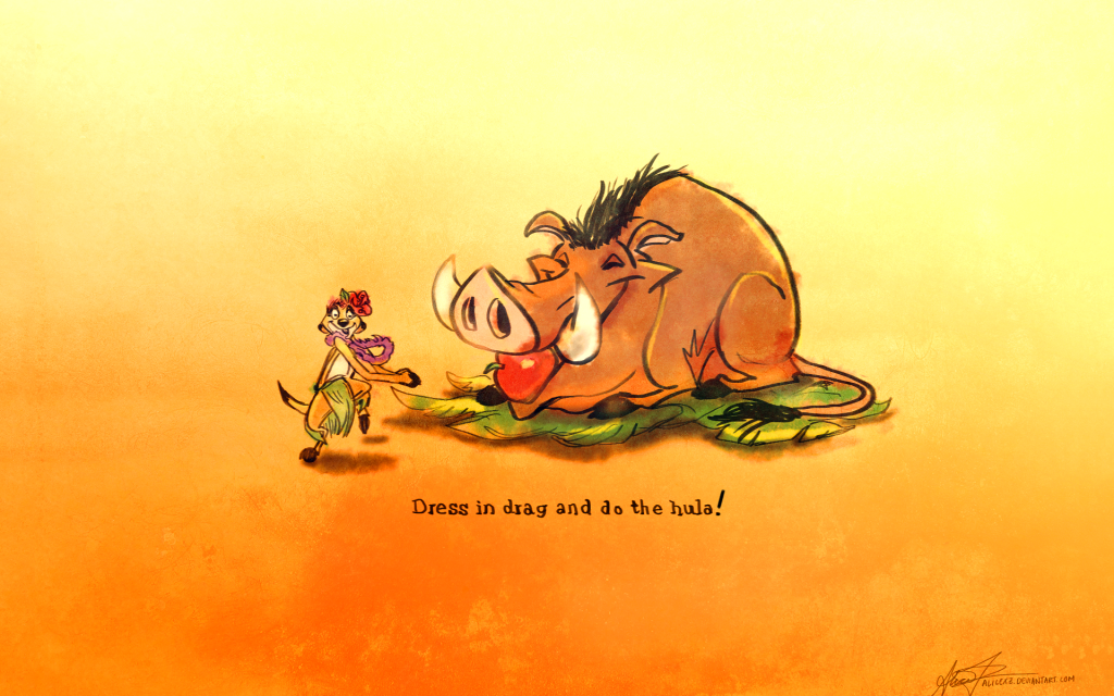 The Lion King Widescreen Wallpaper