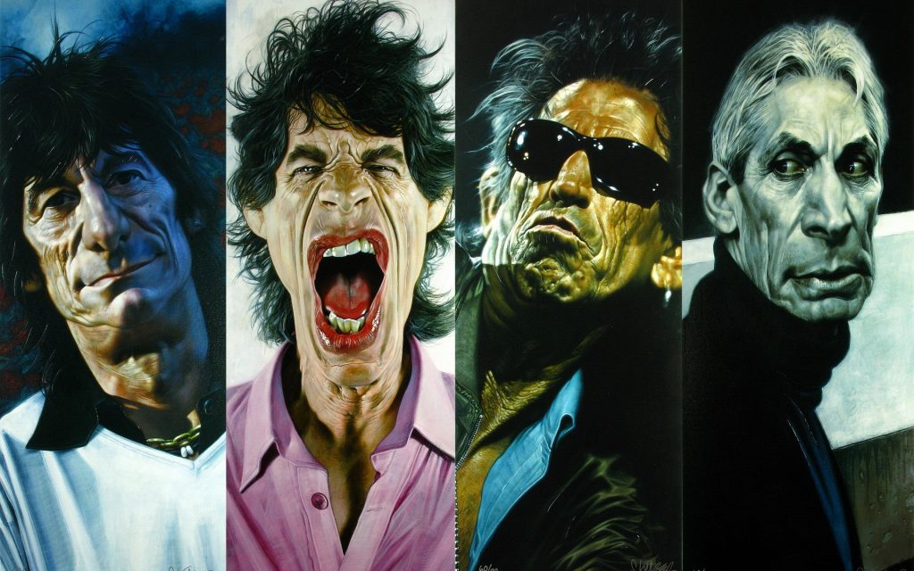 The Rolling Stones Widescreen Wallpaper