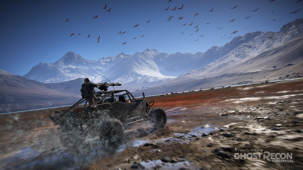 Tom Clancy's Ghost Recon Wildlands 4K UHD Wallpaper