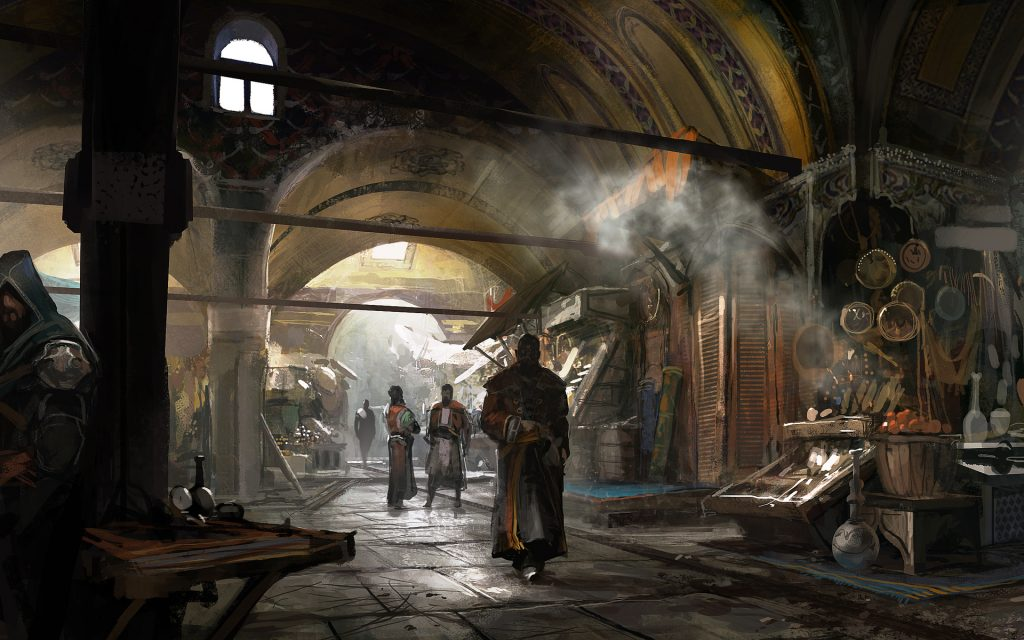 Assassin's Creed: Revelations Widescreen Wallpaper