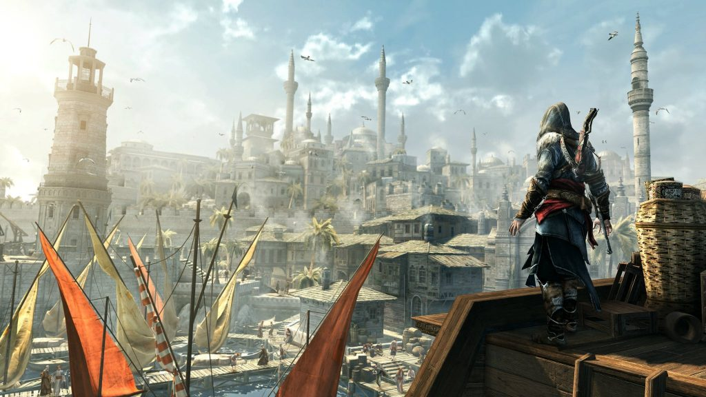 Assassin's Creed: Revelations Dual Monitor Wallpaper
