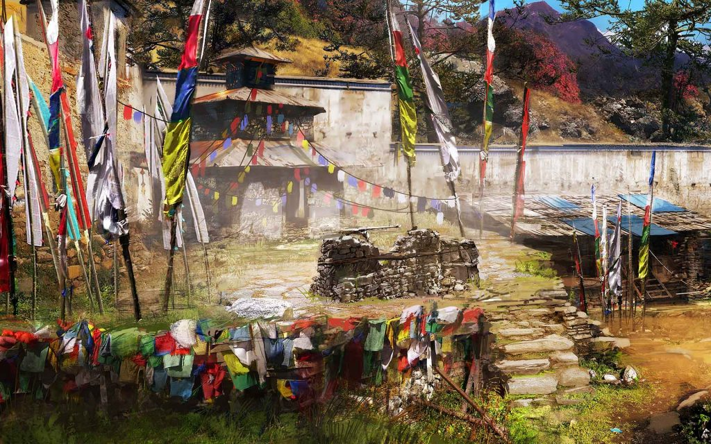 Far Cry 4 Widescreen Wallpaper