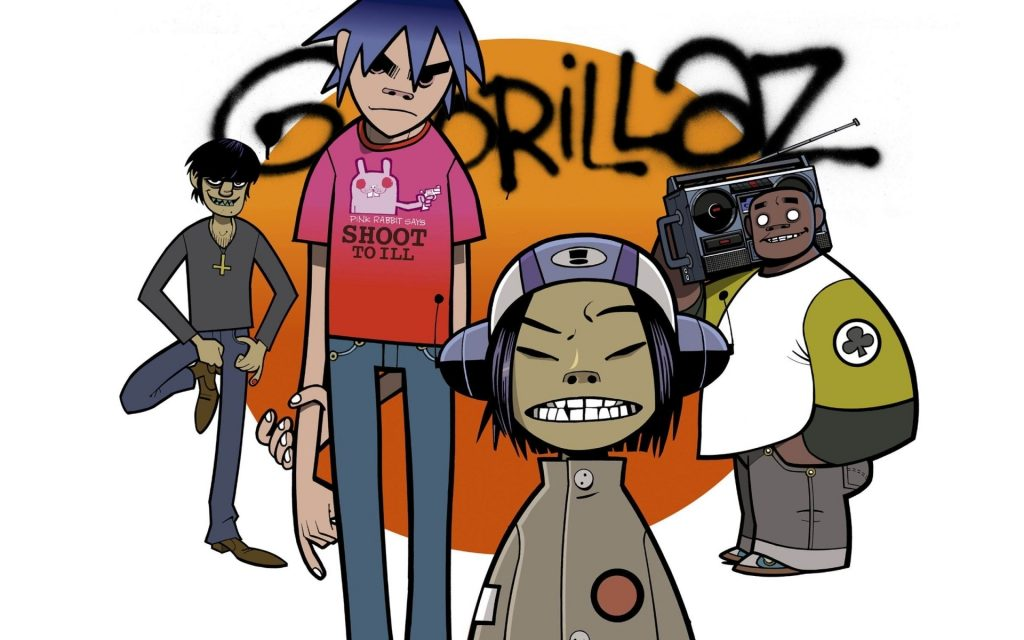Gorillaz Widescreen Wallpaper