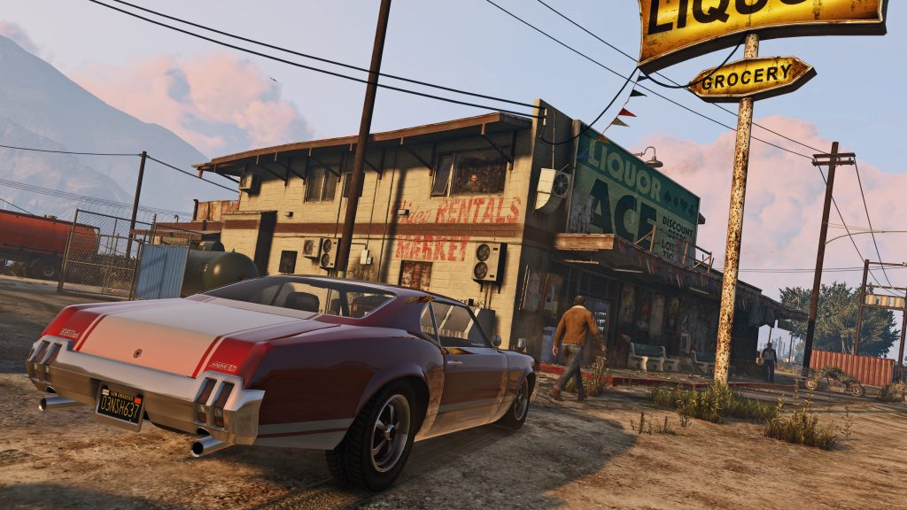 Grand Theft Auto V 4K UHD Wallpaper