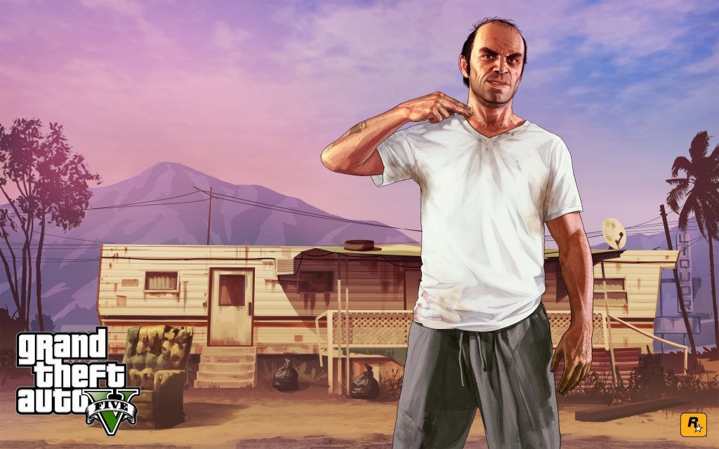 Grand Theft Auto V Widescreen Wallpaper