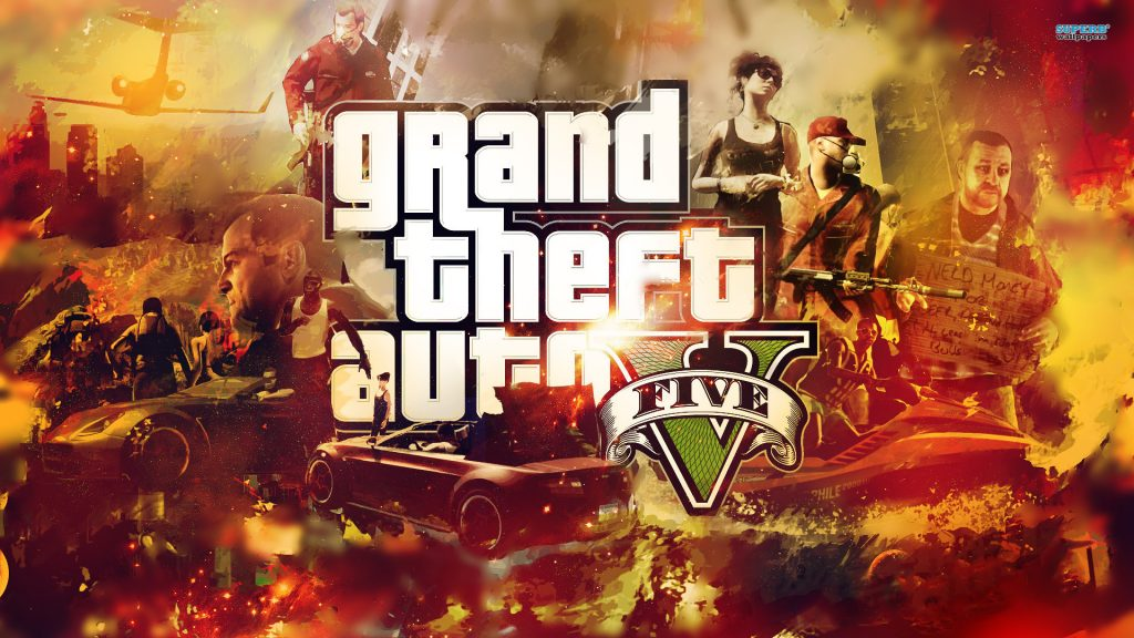 Grand Theft Auto V Full HD Wallpaper