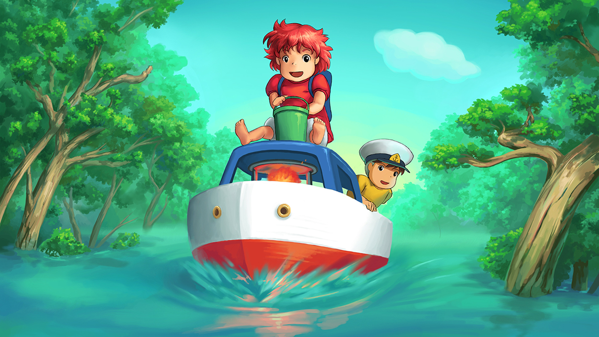 Hd Ghibli Wallpaper 1080: Ponyo Backgrounds, Pictures, Images