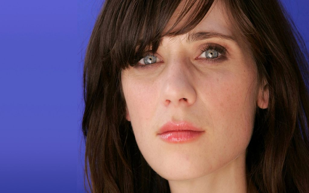 Zooey Deschanel Widescreen Wallpaper