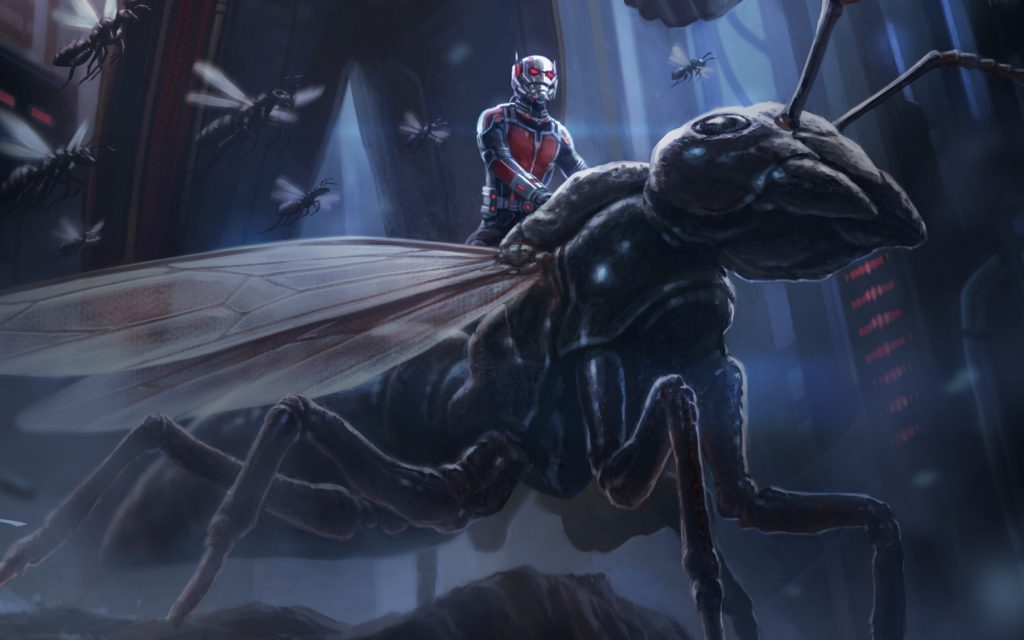 Ant-Man Widescreen Wallpaper