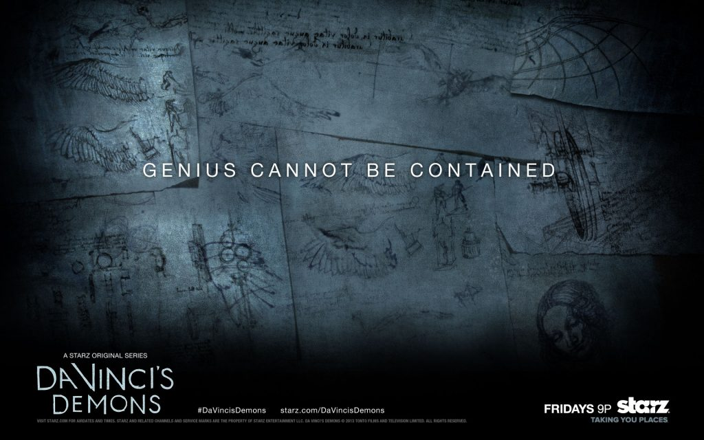 Da Vinci's Demons Widescreen Wallpaper