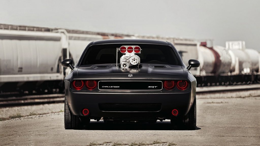 Dodge Challenger SRT Full HD Wallpaper