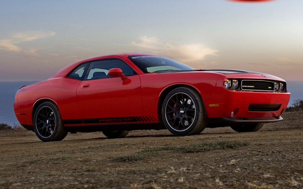Dodge Challenger SRT Widescreen Wallpaper