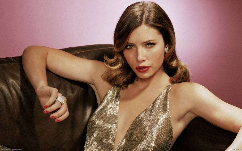 Jessica Biel Widescreen Background