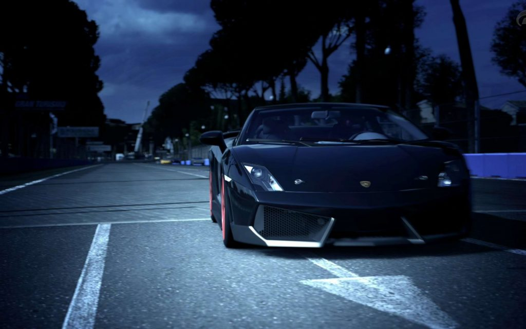 Lamborghini Gallardo Widescreen Wallpaper