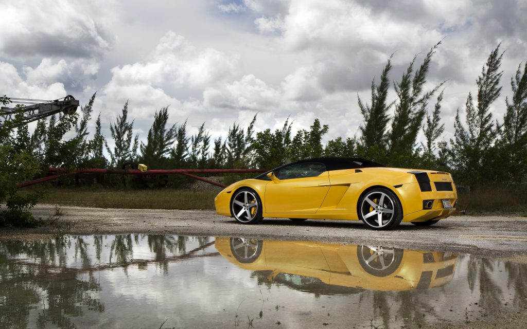 Lamborghini Gallardo 4K Ultra HD Wallpaper