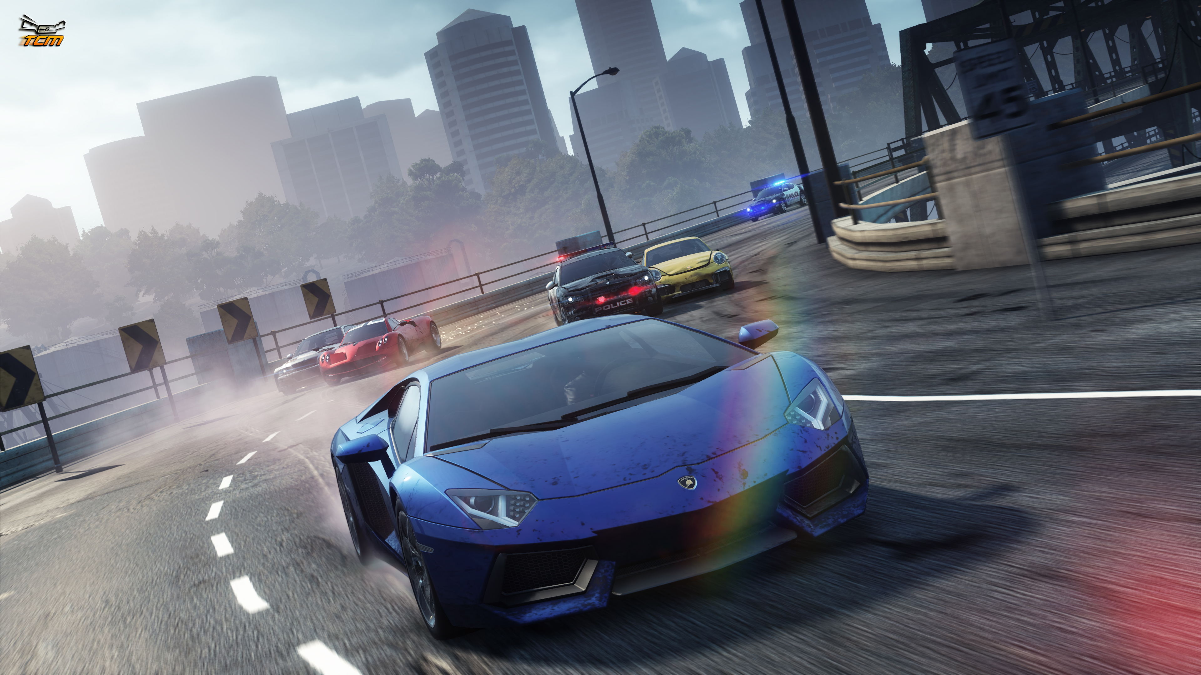 Need for speed most wanted Computer Wallpapers Desktop NFS