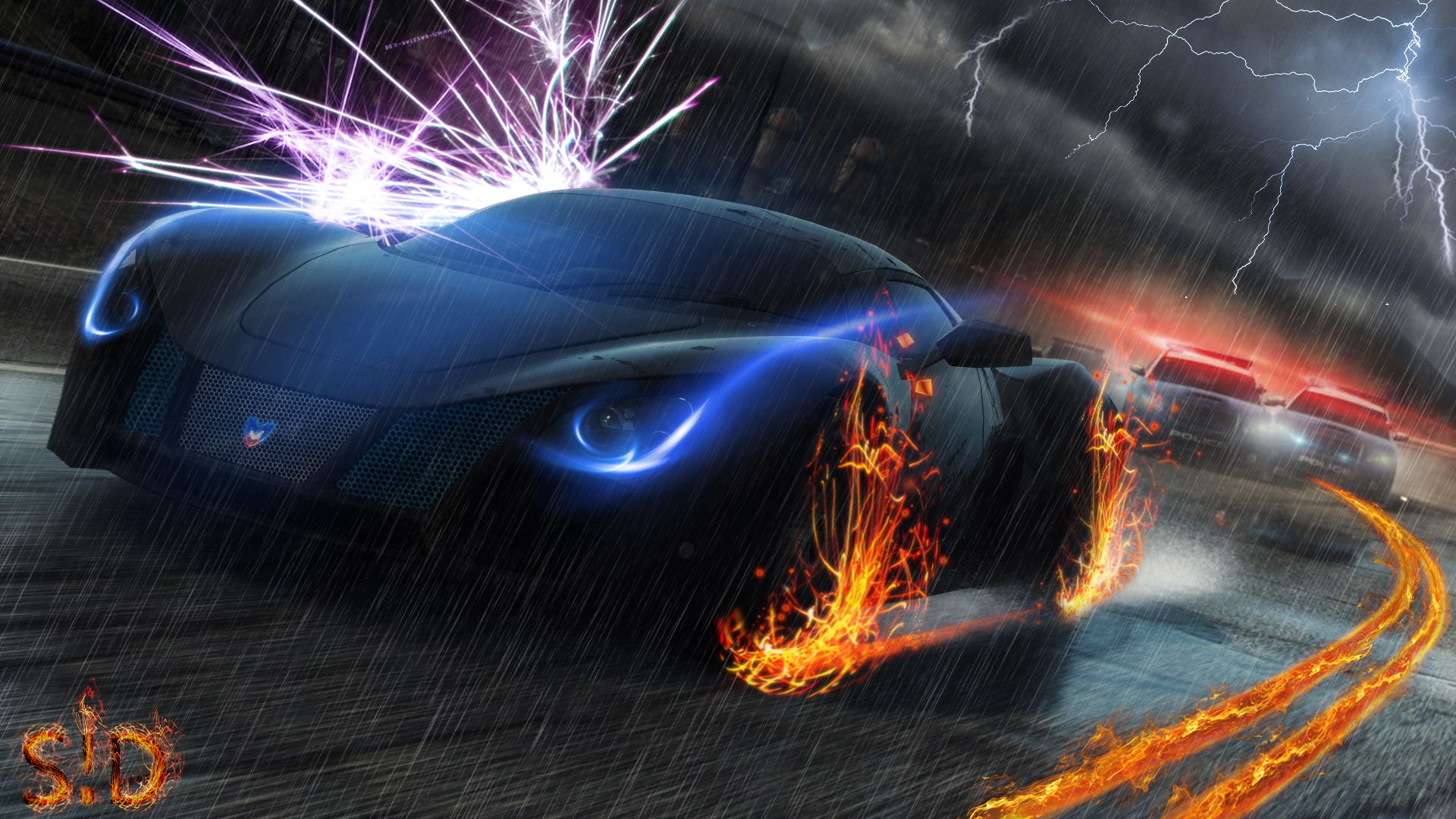 Need For Speed Most Wanted Full HD Wallpaper