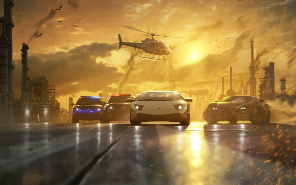 Need For Speed: Most Wanted Widescreen Wallpaper