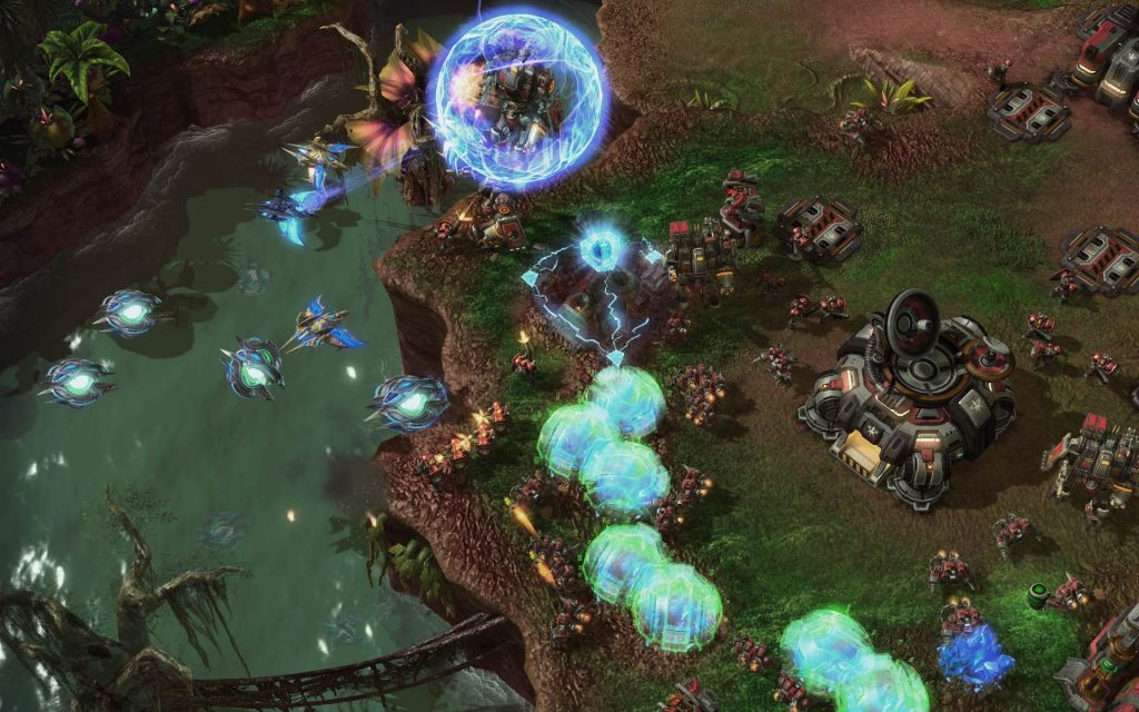 StarCraft II: Heart Of The Swarm Widescreen Wallpaper