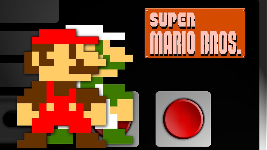 Super Mario Bros. Full HD Background