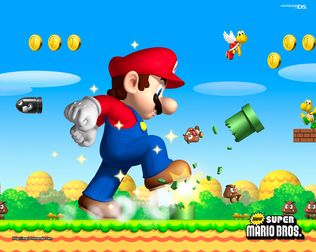 Super Mario Bros. Background
