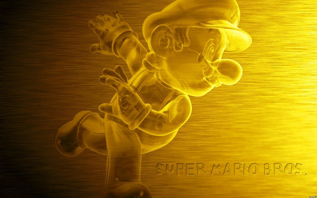 Super Mario Bros. Widescreen Background