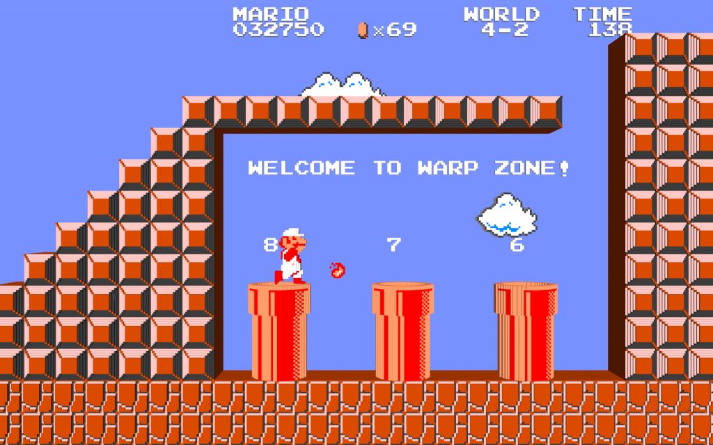 Super Mario Bros. Widescreen Background