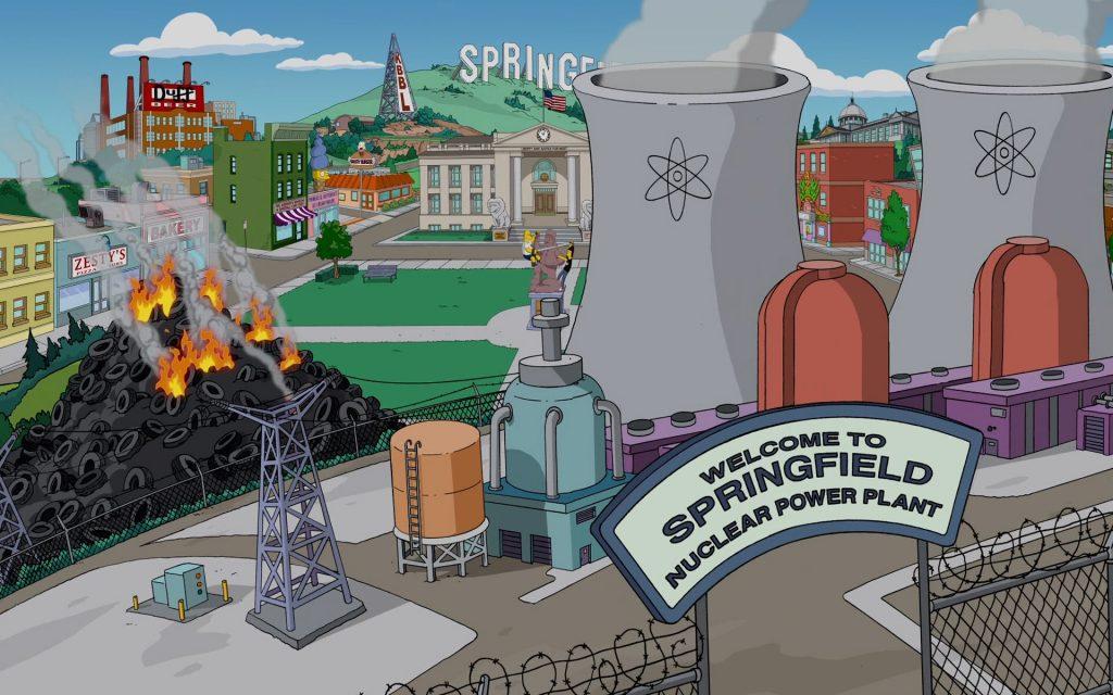 The Simpsons Widescreen Wallpaper
