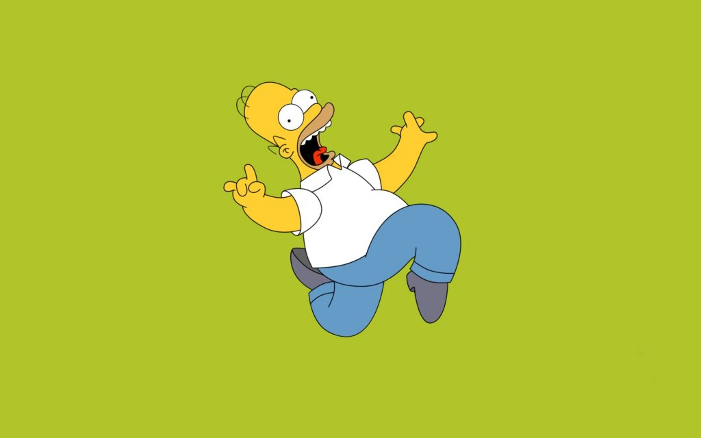 The Simpsons Widescreen Wallpaper