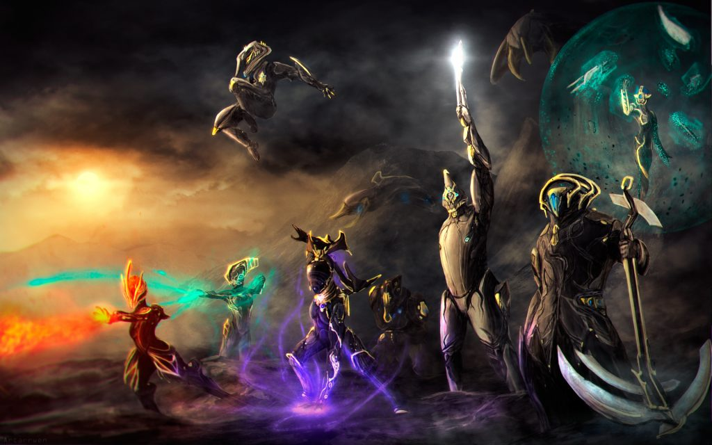 Warframe Widescreen Wallpaper