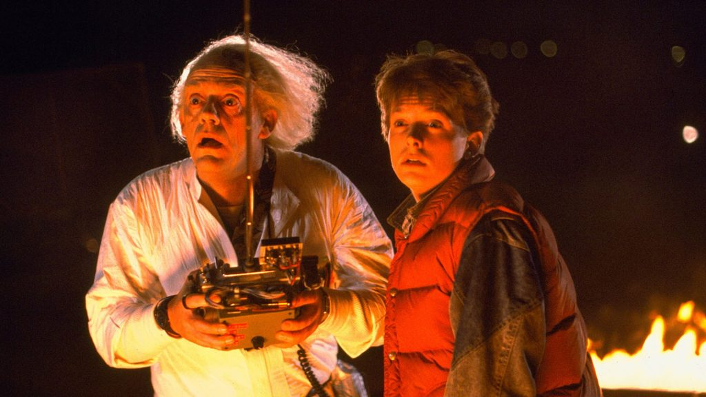 Back To The Future Full HD Wallpaper