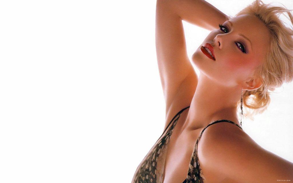 Charlize Theron HD Widescreen Wallpaper