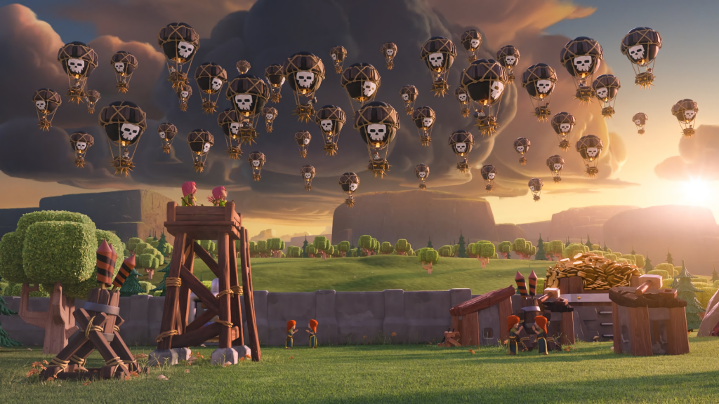Clash Of Clans Full HD Wallpaper