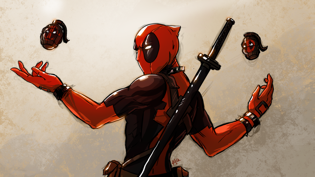 Deadpool HD Background