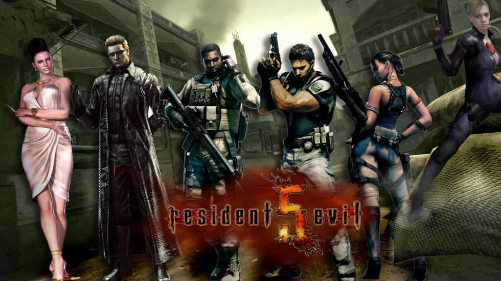 Resident Evil Background