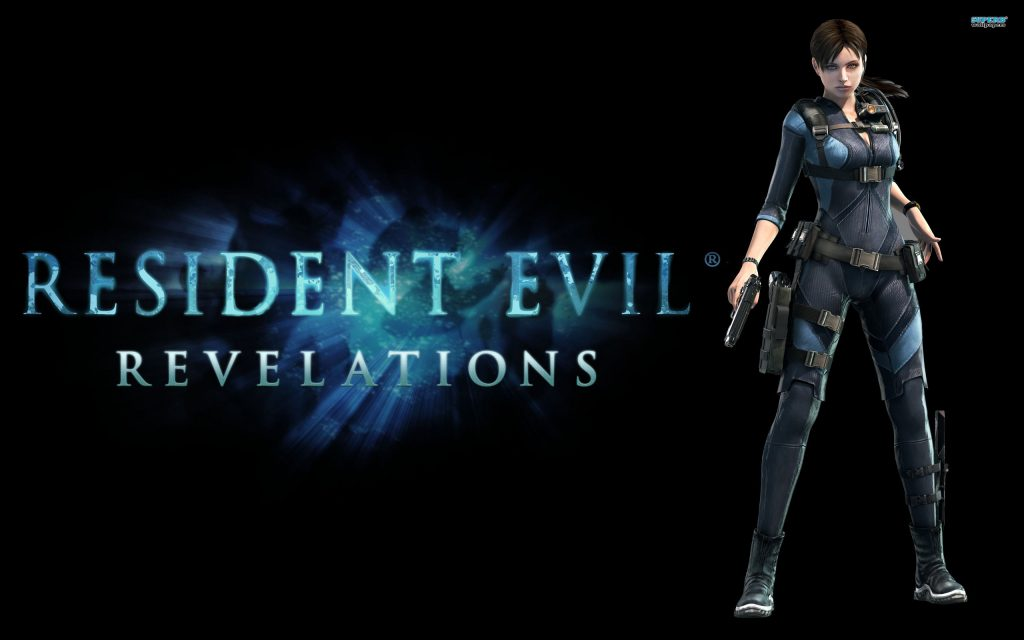 Resident Evil Widescreen Background