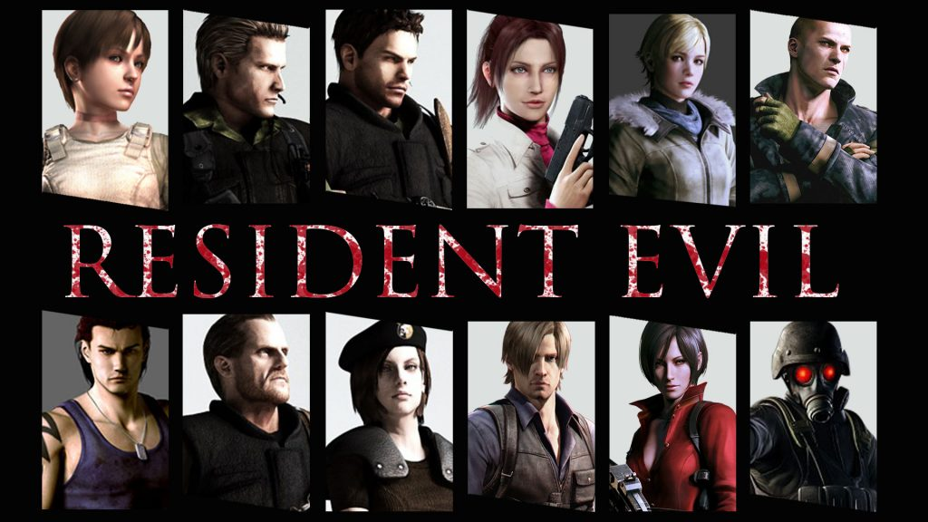 Resident Evil Full HD Background