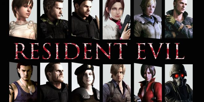 Resident Evil Backgrounds