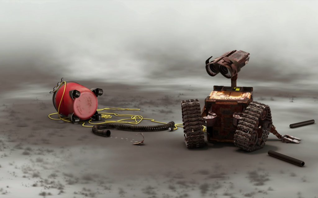 Wall·E Widescreen Wallpaper