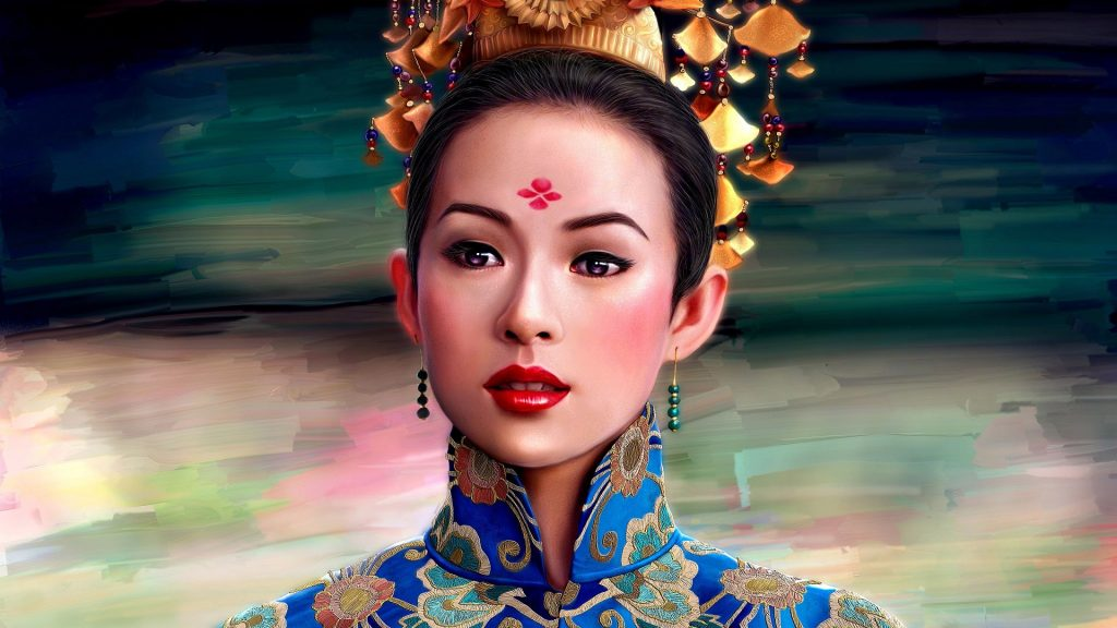 Zhang Ziyi Full HD Wallpaper